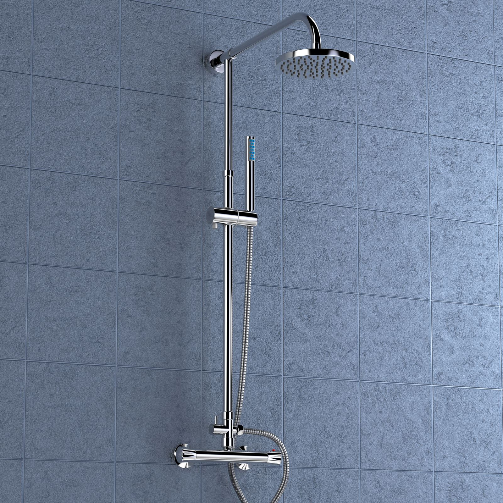 Clarity-Round-Valore-Square-Twin-Head-Thermostatic-Shower-Mixer-Chrome-Bathroom
