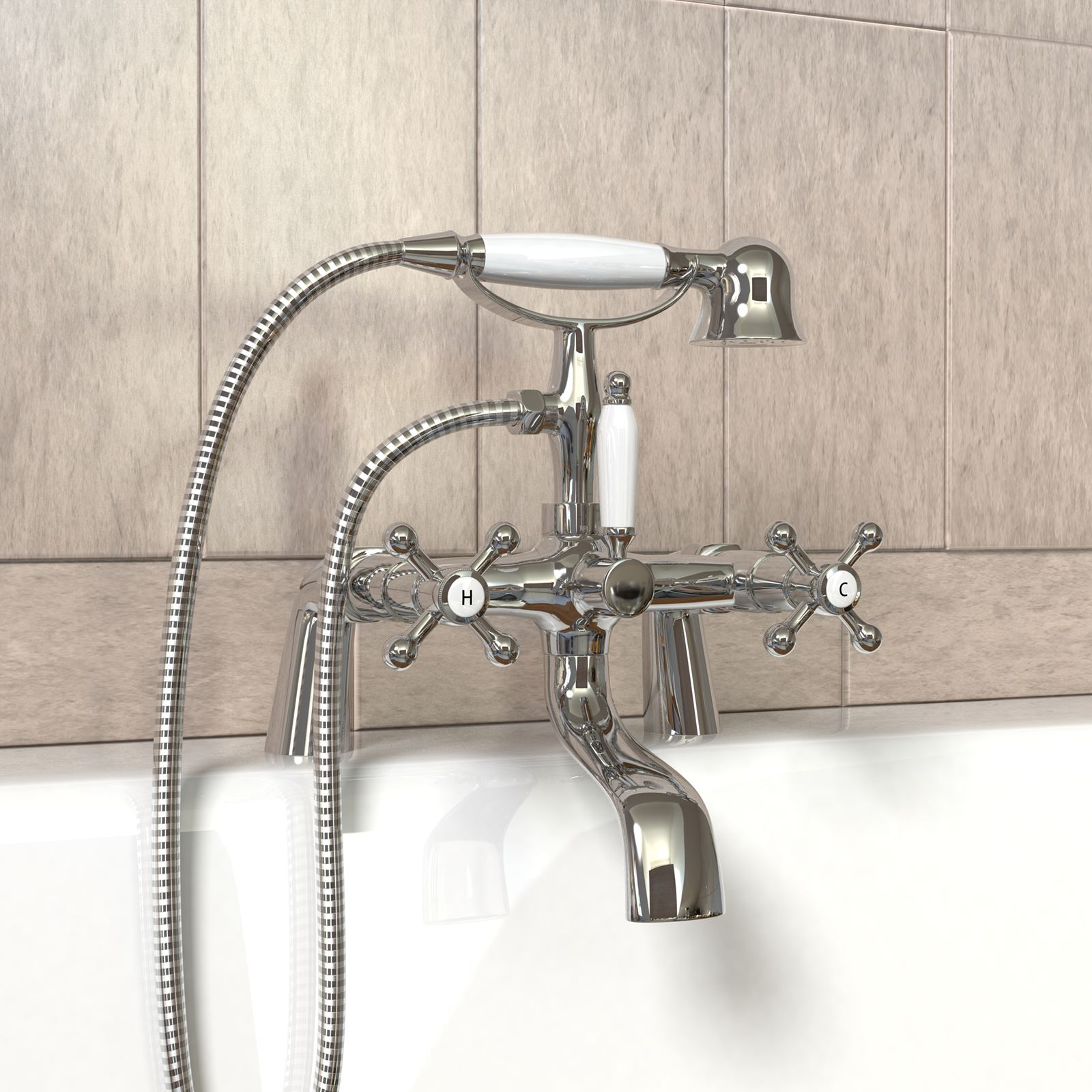 Shower attachments for bath tapswilko functional bath for Bathroom taps adelaide