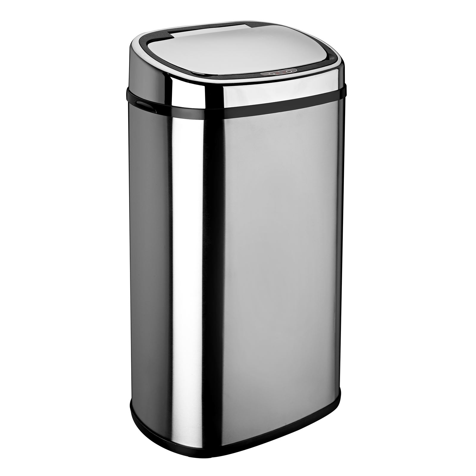 charming Slimline Waste Bins Kitchen #3: Rectangle-Round-White-Black-Red-Silver-Sensor-Kitchen-