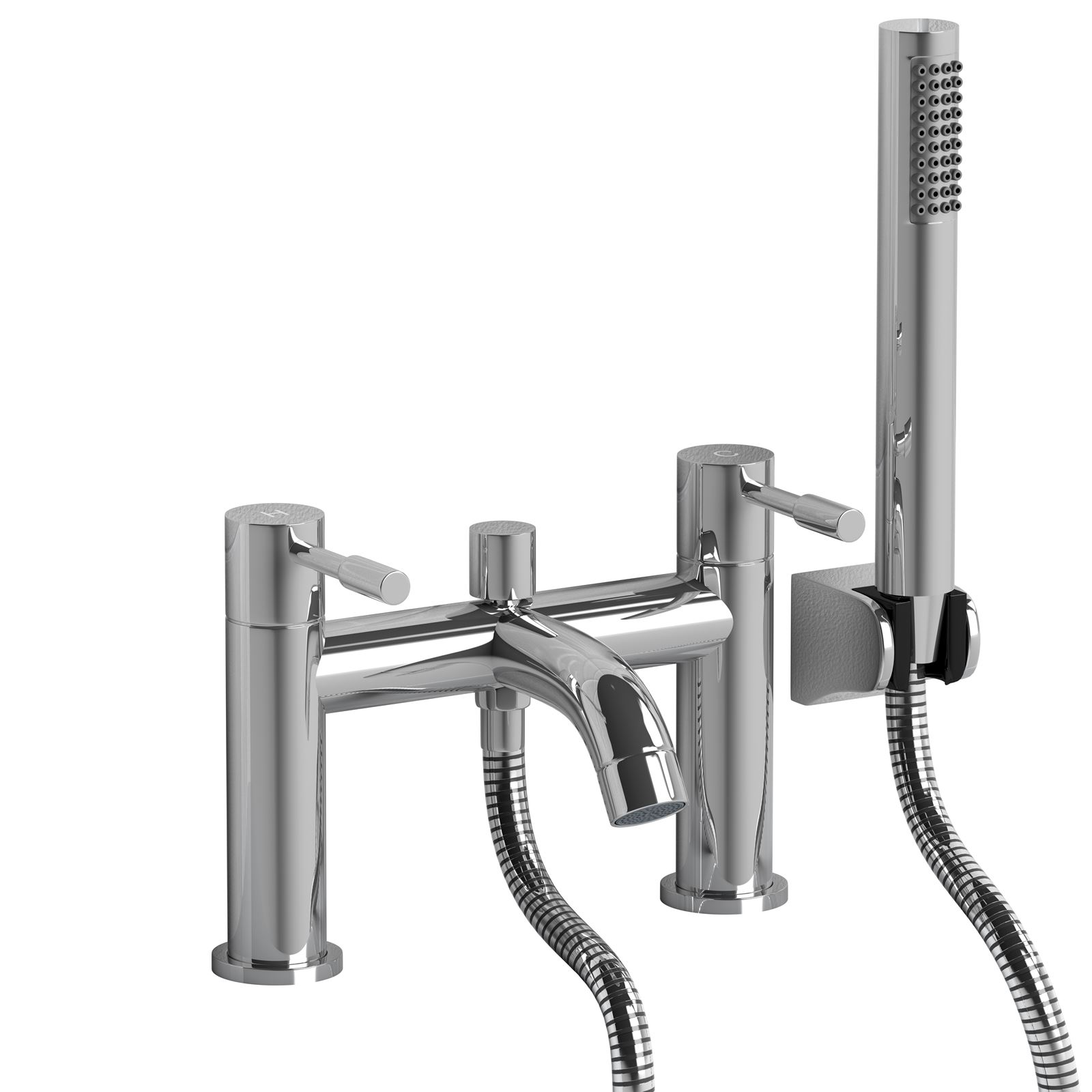 Bathroom Taps With Shower Attachment Single Lever Chrome