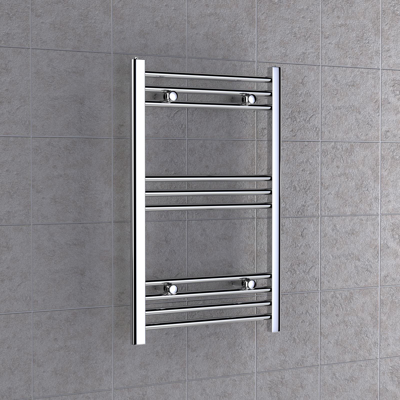 Toallero radiador para ba o o cocina en acero cromado - Toallero cromado para bano ...
