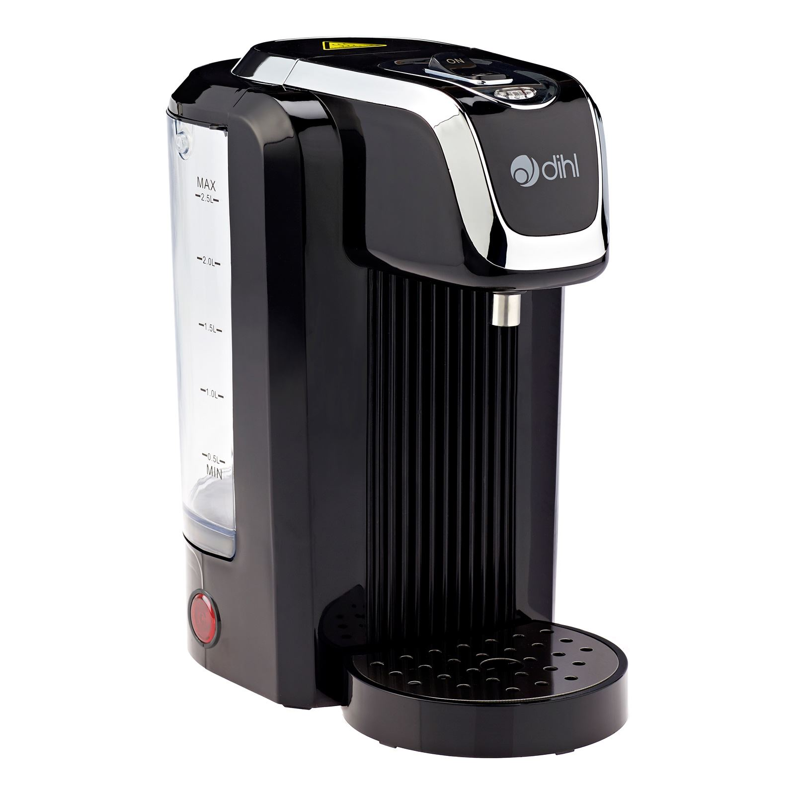Instant Hot Water Makers : Dihl cream red black instant hot water boiler dispenser