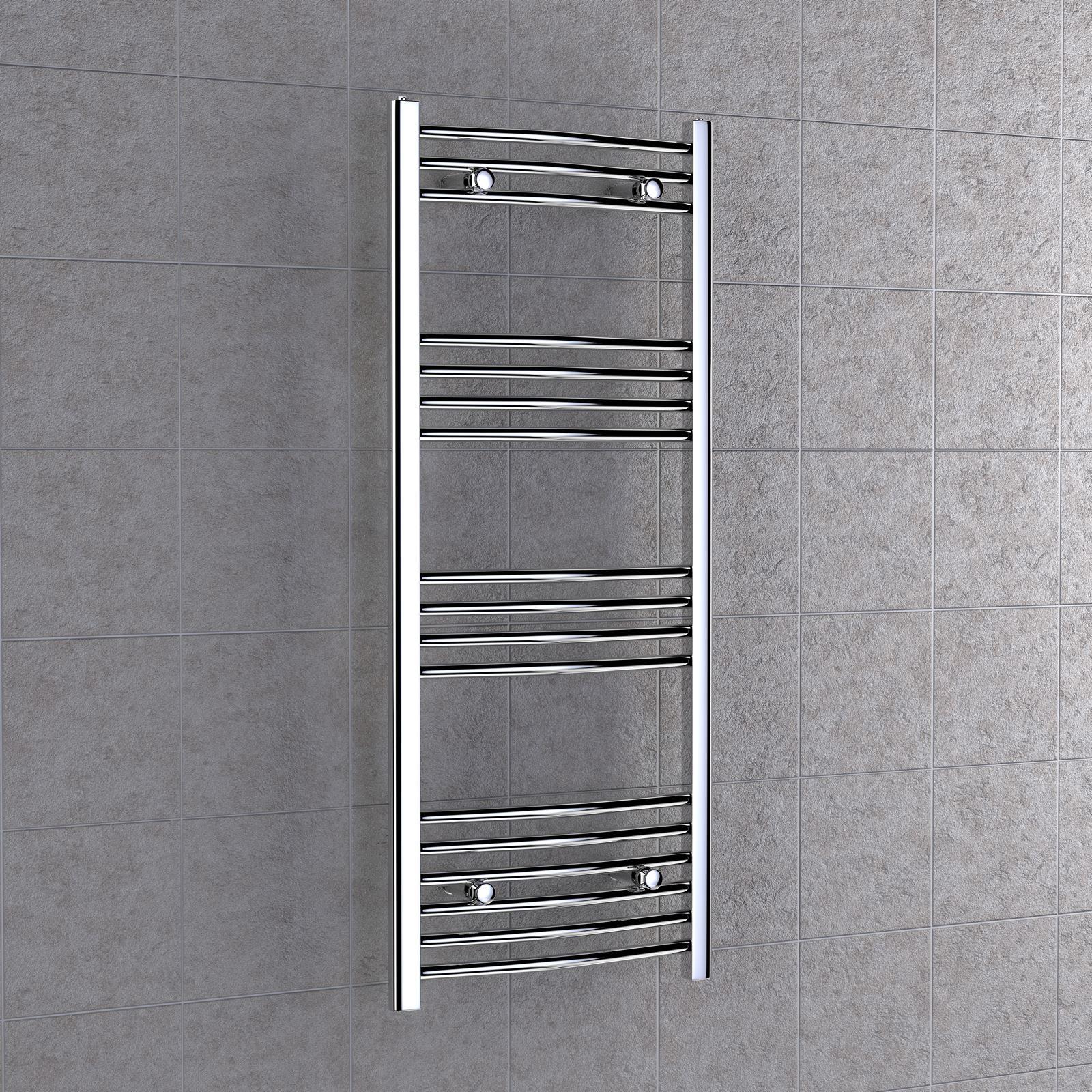 Toallero radiador para ba o o cocina en acero cromado for Planos de cocina y bano