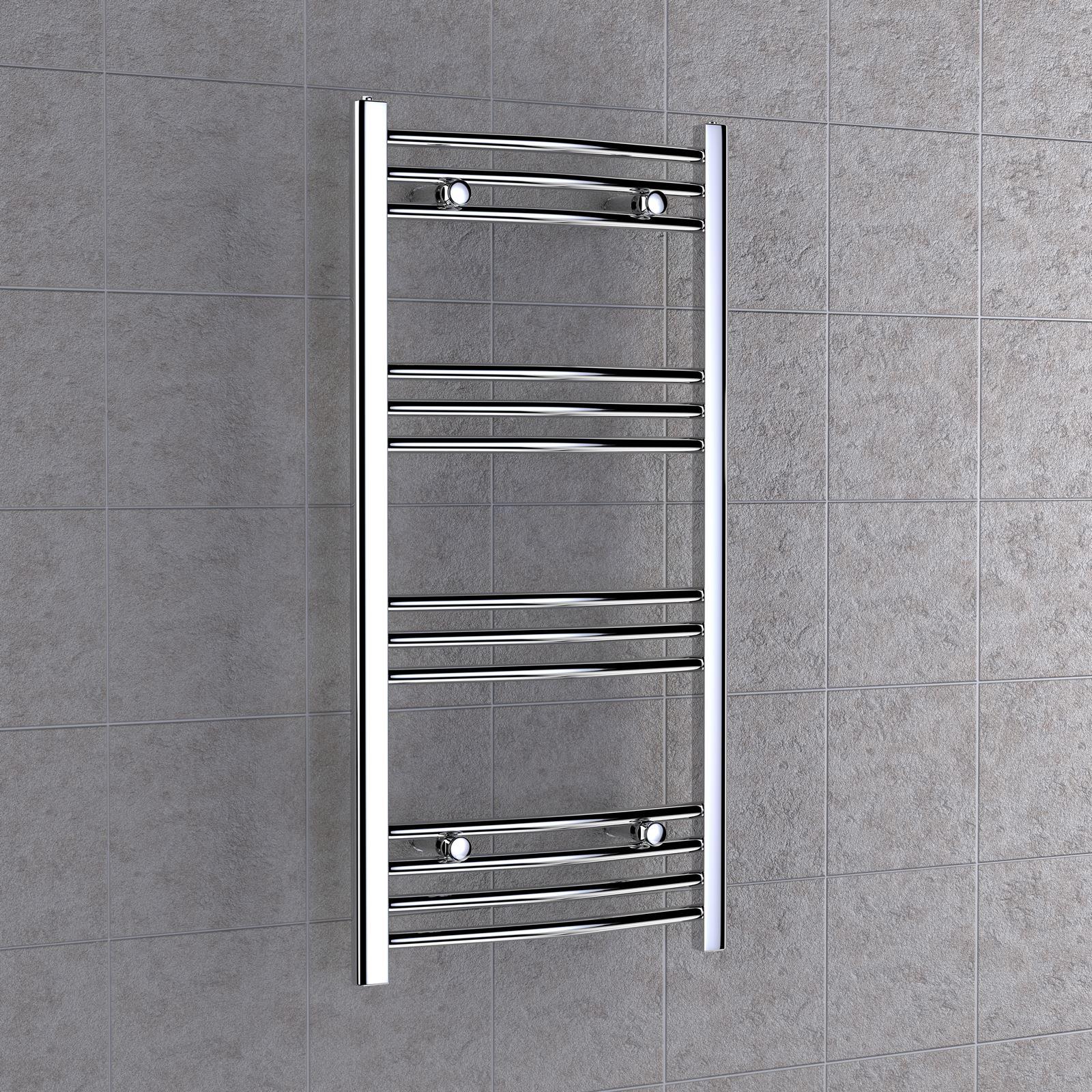 Toallero radiador para ba o o cocina en acero cromado for Toallero cromado para bano