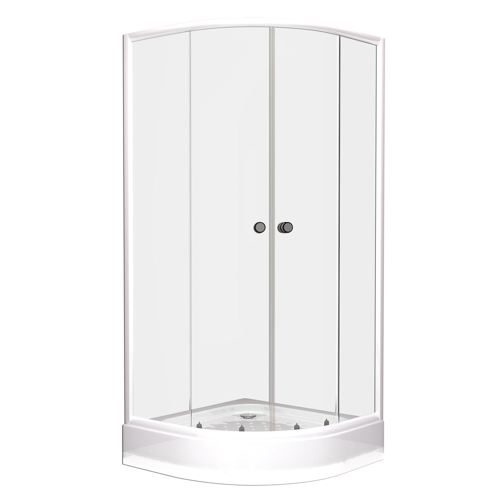 900 X 900 Modern Quadrant Shower Enclosure Corner Cubicle