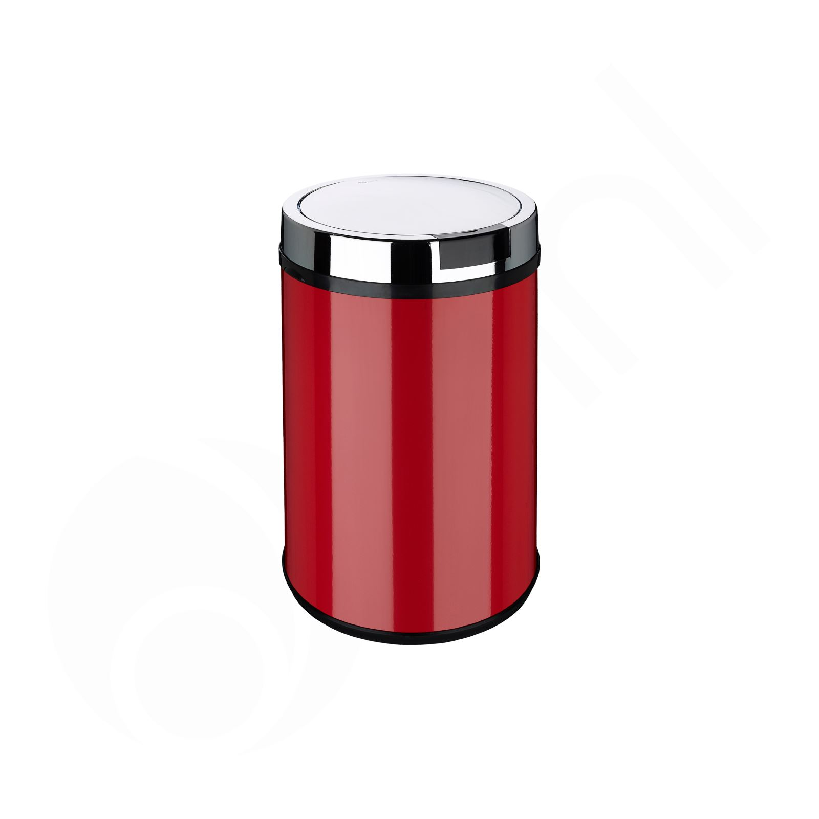 Kitchen Waste Bins: Rectangle Round White Black Red Silver Sensor Kitchen