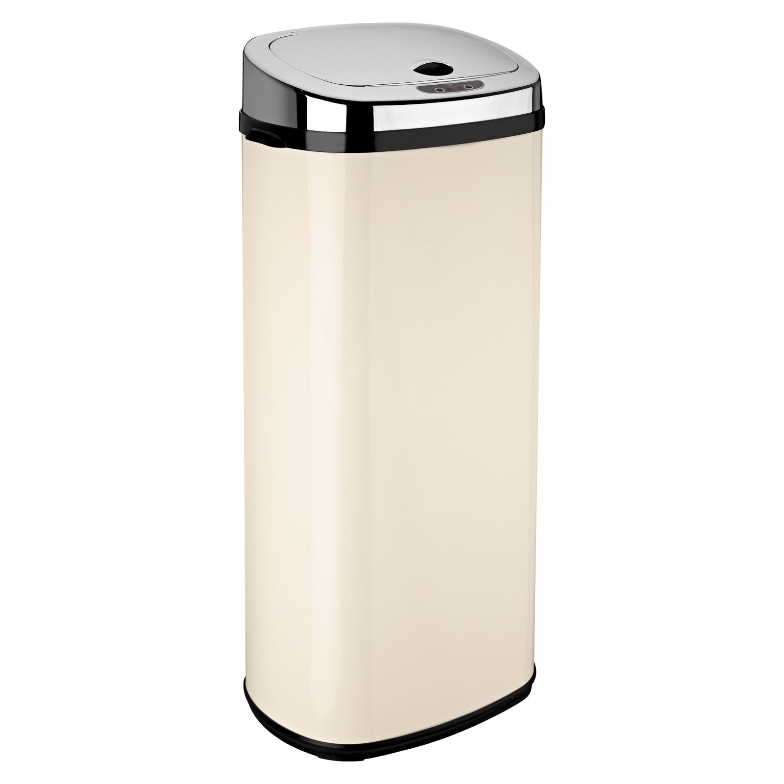 Kitchen Waste Bins: Dihl 30L 42L 50L Origin Rectangle Cream Sensor Kitchen