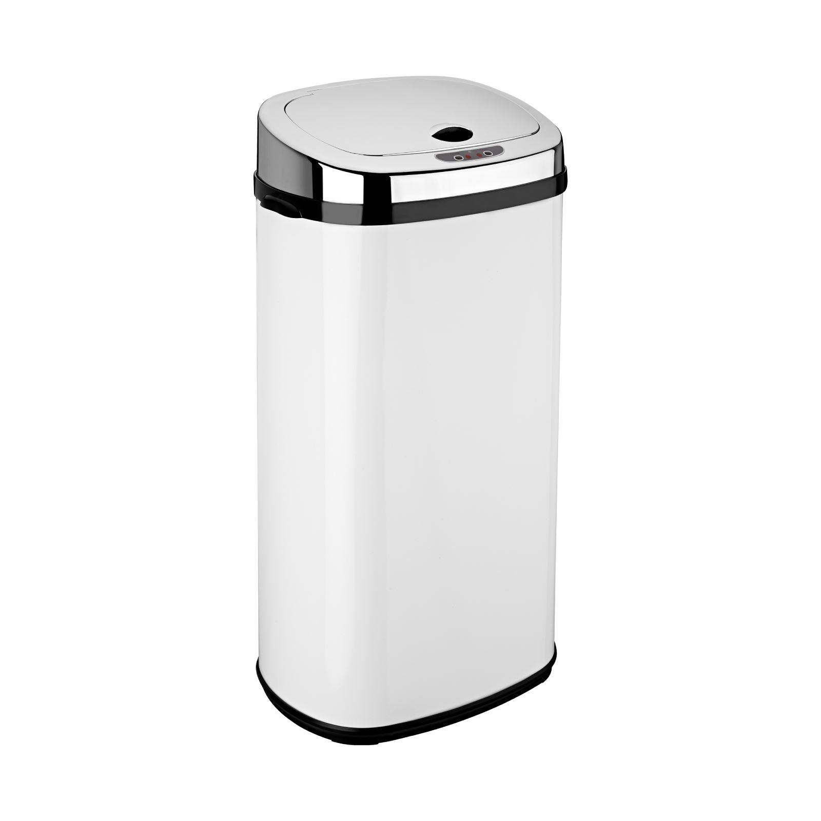 Kitchen Waste Bins: Dihl 30L 42L 50L Origin Rectangle White Sensor Kitchen