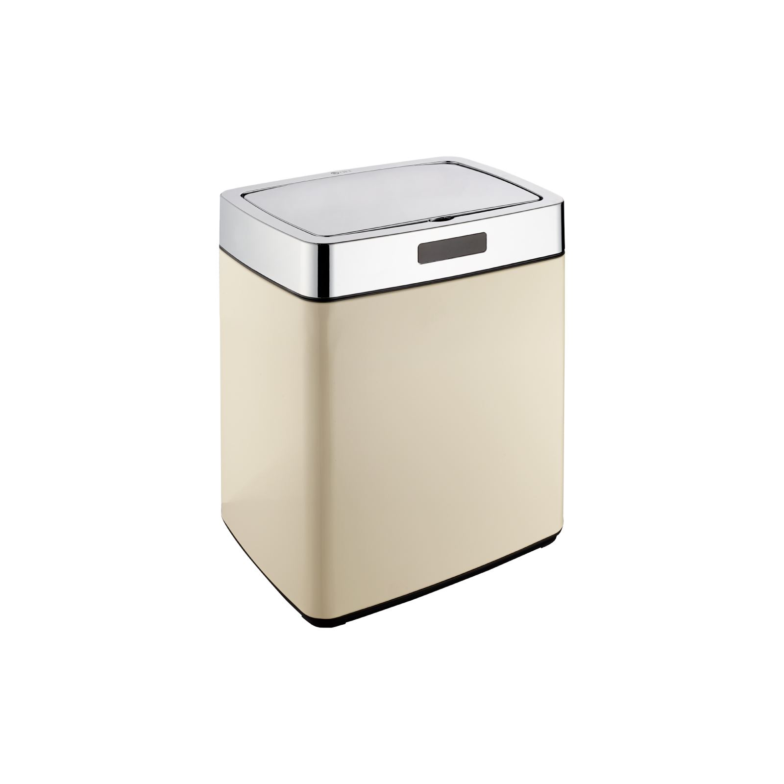 Kitchen Waste Bins: Dihl 28L 35L 45L Mono Rectangle Cream Sensor Kitchen Waste