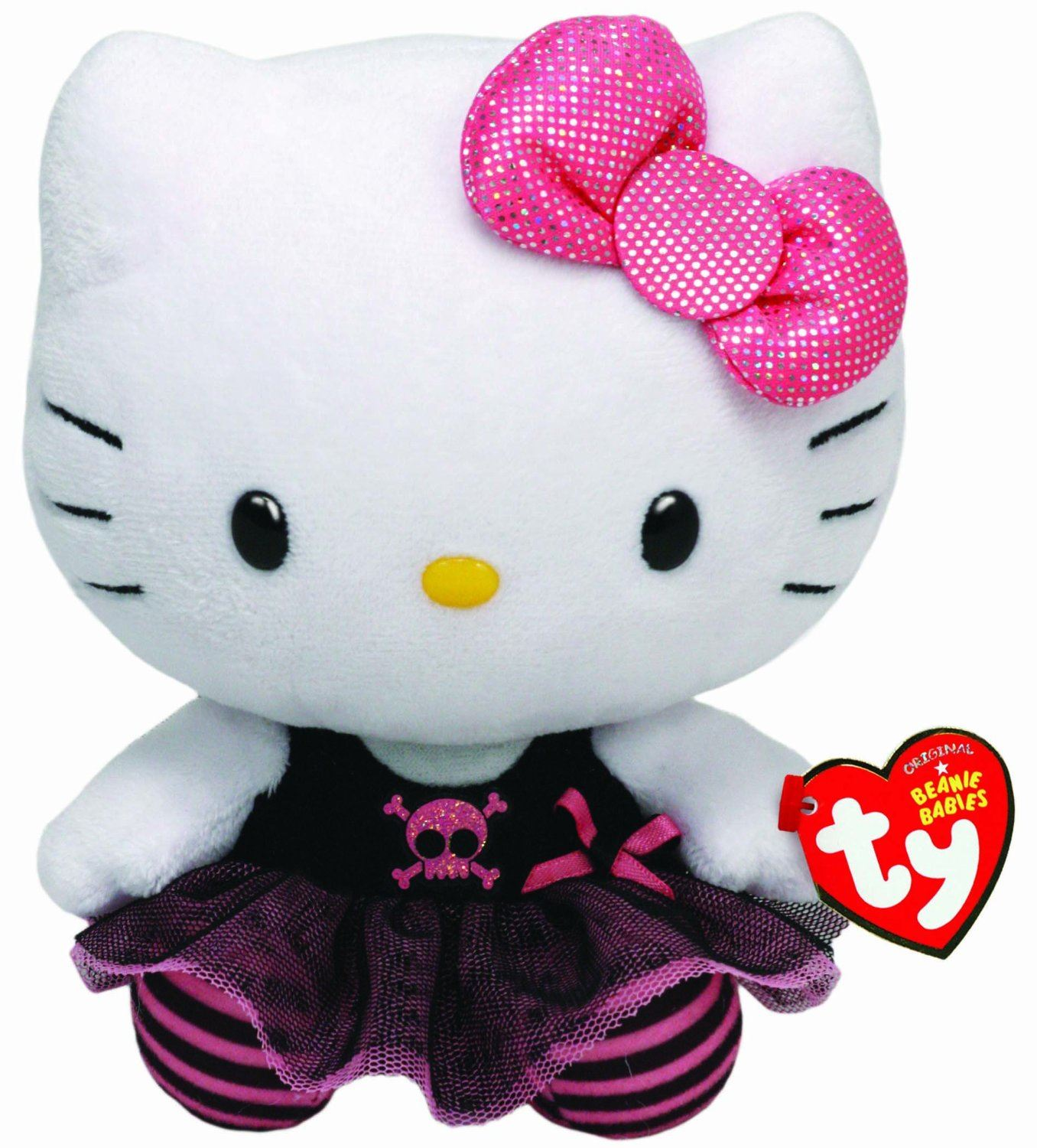 Hello Kitty Stuff Toys : Hello kitty quot ty beanies plush collection choose your