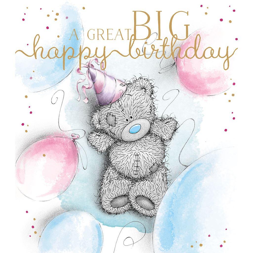 Me To You Birthday Card Variety Various Tatty Teddy Bday