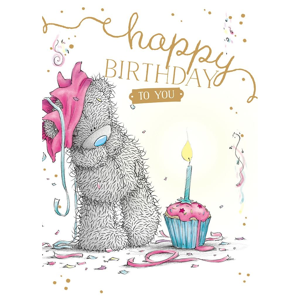 Me to You Birthday Greetings Cards Selection Tatty Teddy ...
