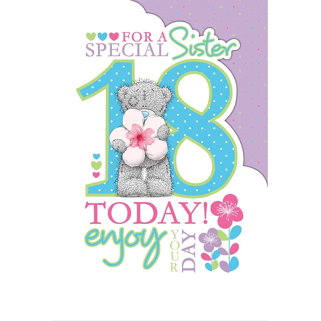 Me To You Birthday Cards 18th & 21st Milestone Birthday