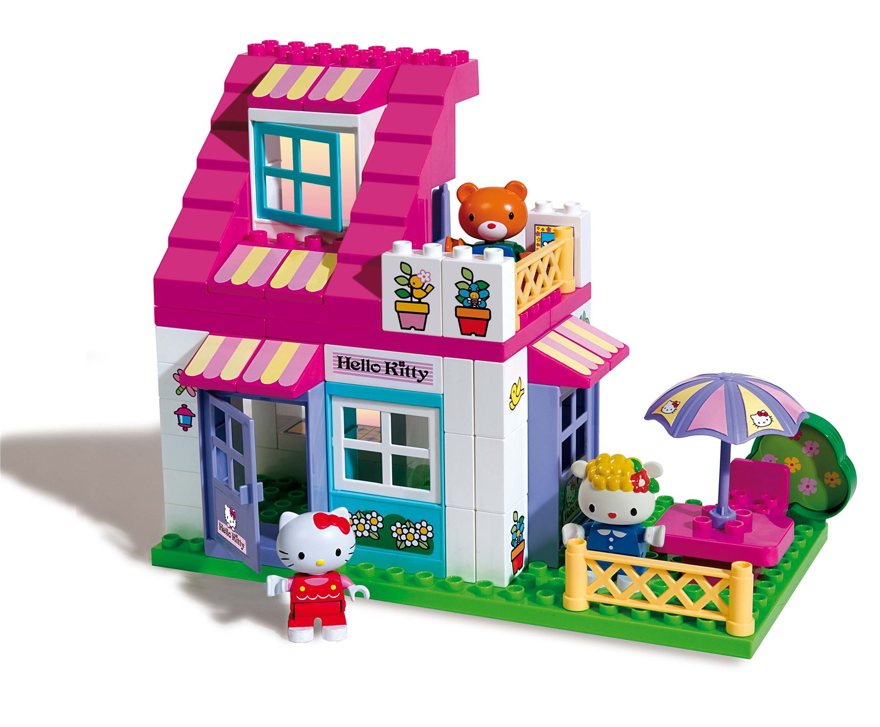 HELLO KITTY  Mookie 59piece House Unico Set  Building Bricks  eBay