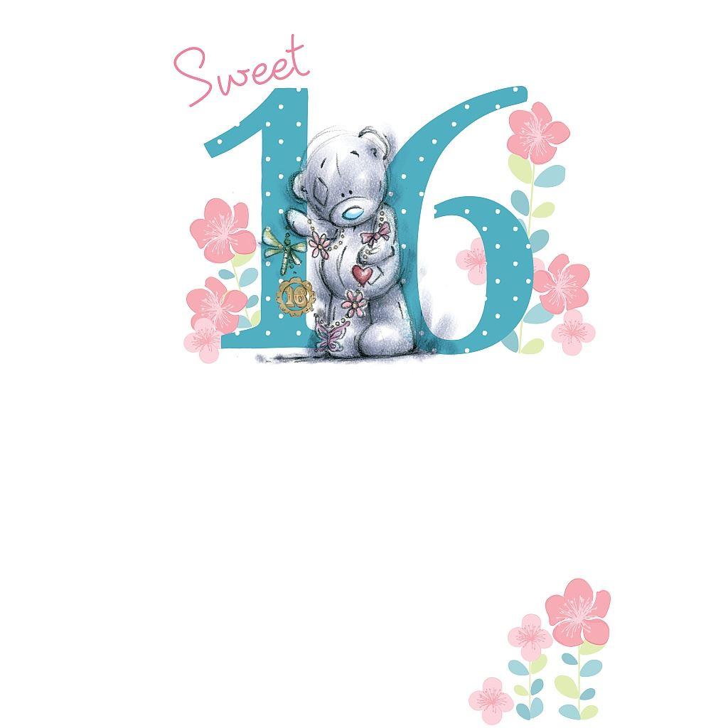 Me To You Birthday Cards 1-17 Bdays 1st 13th 16th Birthday