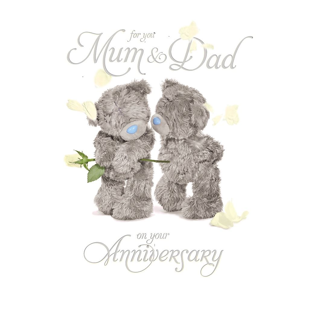 Me to you anniversary card selection husband wife mum dad