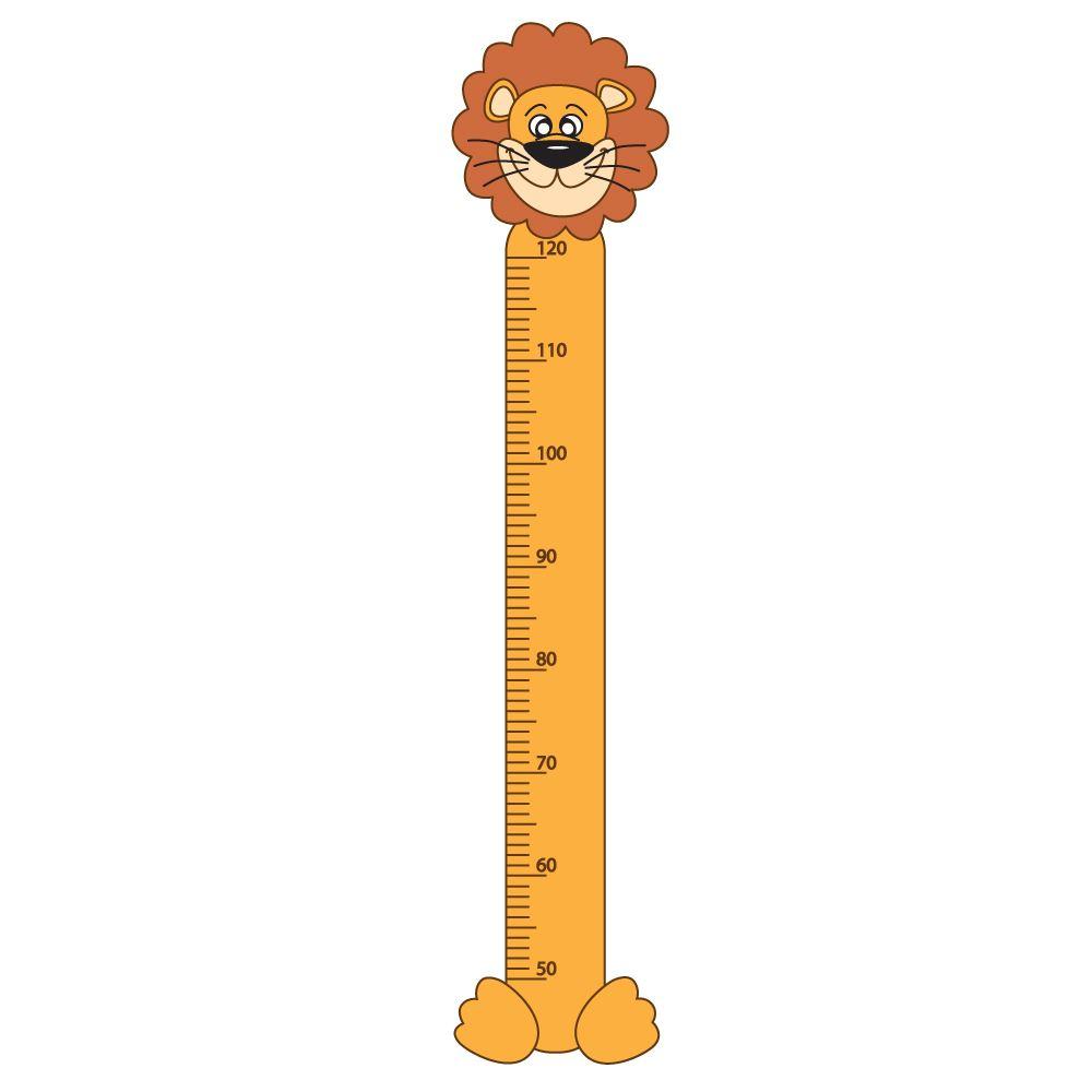 Pegatina para pared metro para medir estatura ni os con - Metro para medir ...