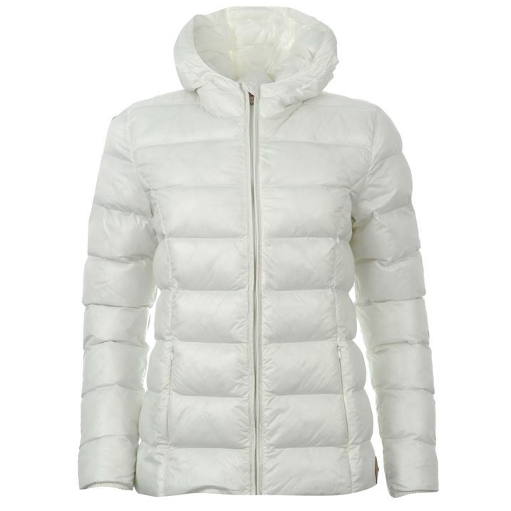 SoulCal Womens Micro Bubble Jacket Ladies Long Sleeved Zip ...