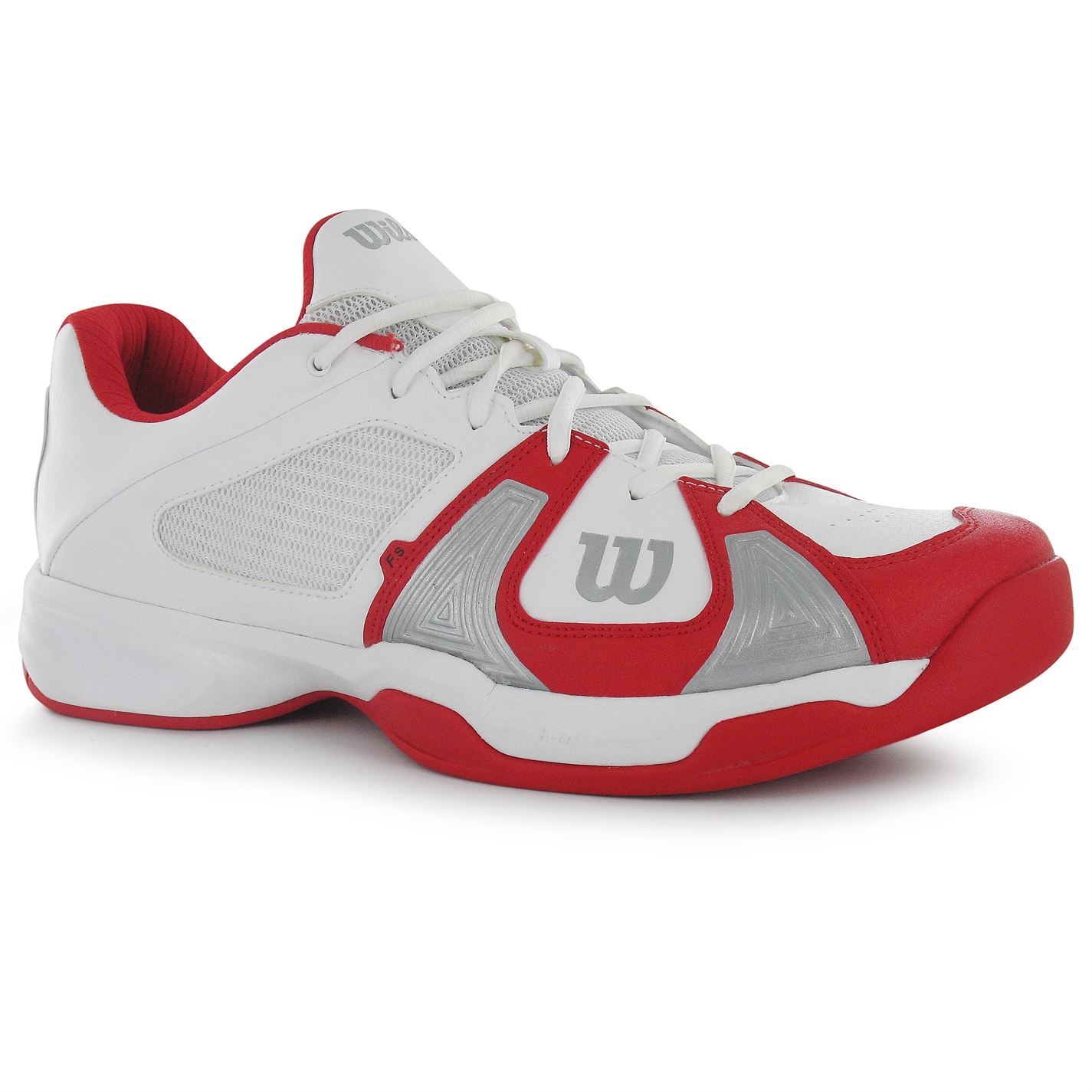 wilson mens open tennis shoes cushioned insole lace
