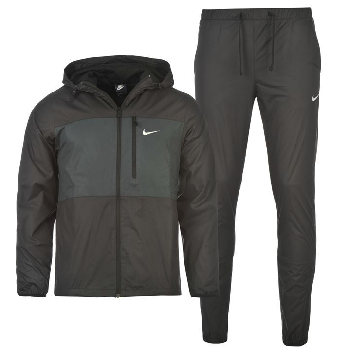 nike woven tracksuit bottoms