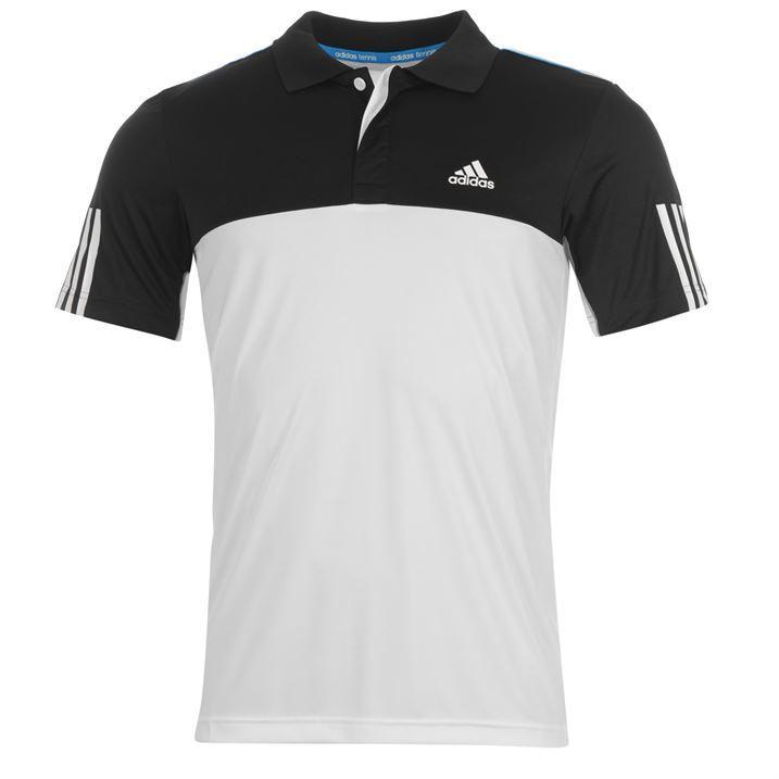 adidas white polo t shirt