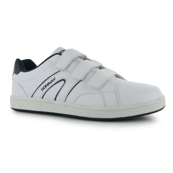 Donnay Mens West Velcro Padded Tennis Shoes Sports ...