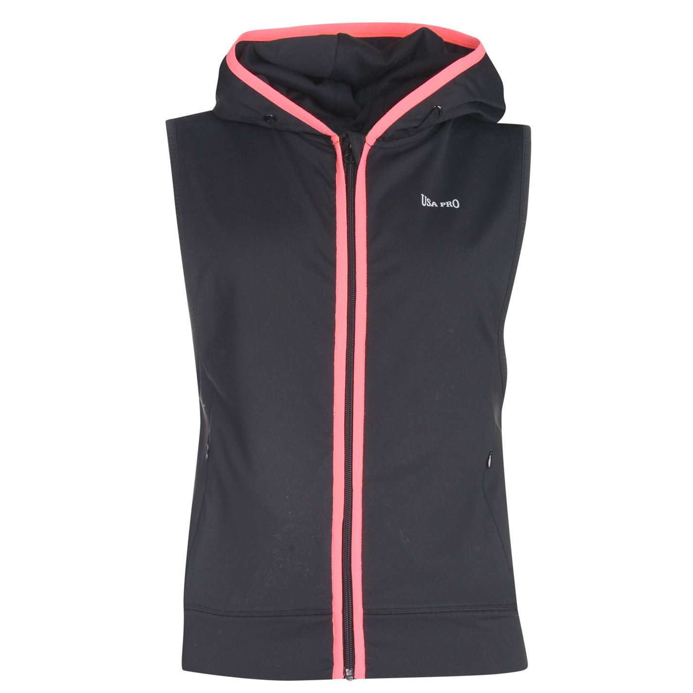 Sleeveless hoodie for women