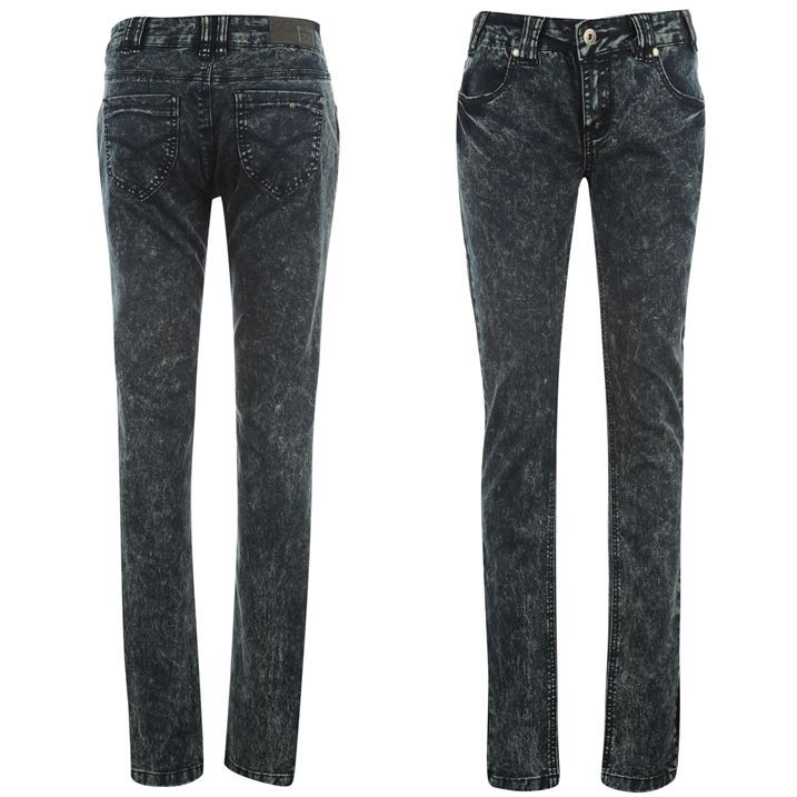 Firetrap-Womens-Acid-Skinny-Jeans-Ladies