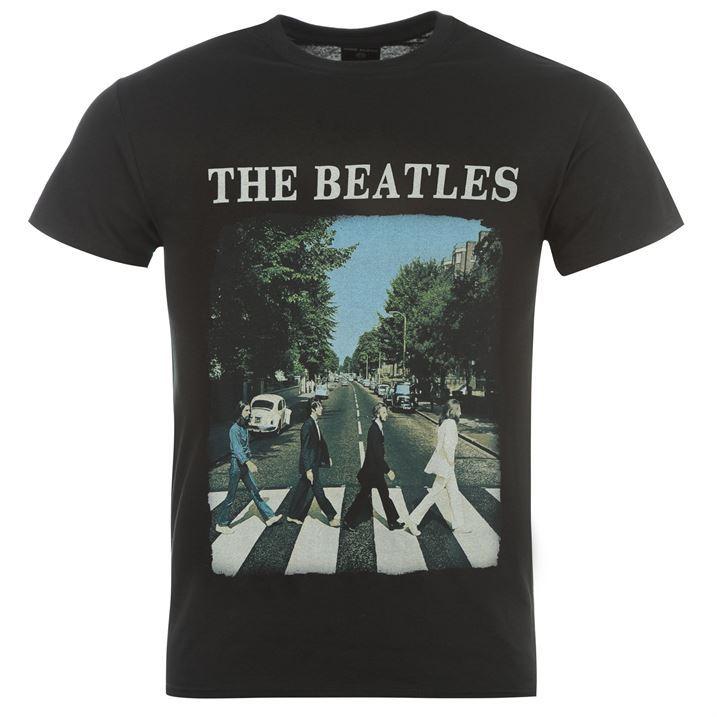 Mens Official The Beatles T Shirt New Ebay