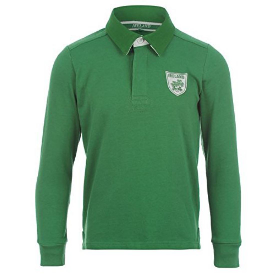 International Rugby Long Sleeved Classic Polo Shirt Cotton