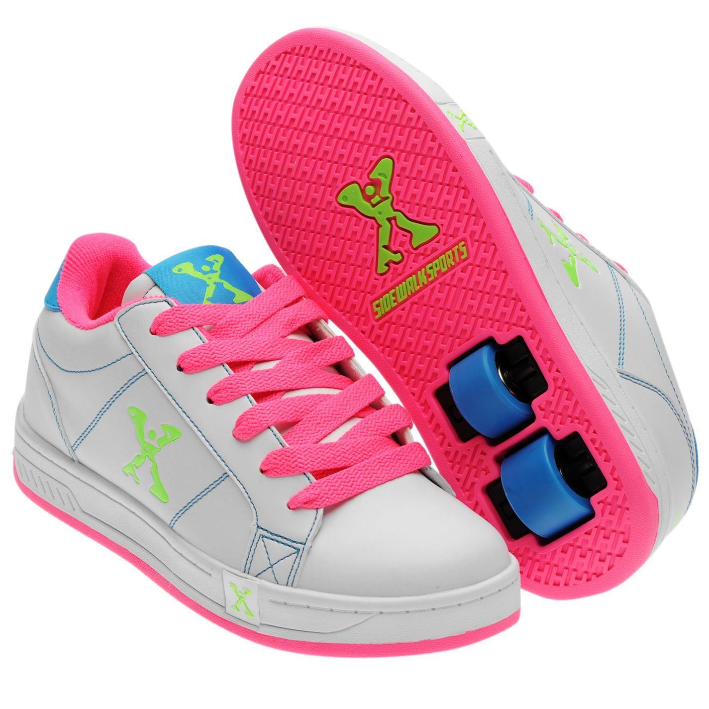 Roller tennis shoes - Sidewalk Sport Kids Lane Girls Lace Up Flat