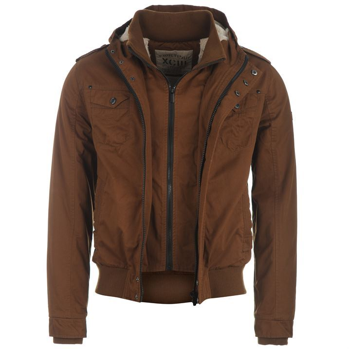 Mens Fleece Lined Jacket wOOC0y