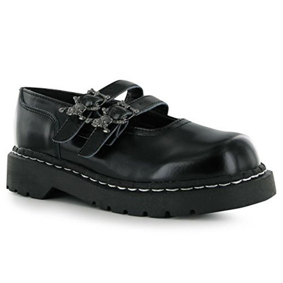 tuk womens shoes buckle fastening chunky