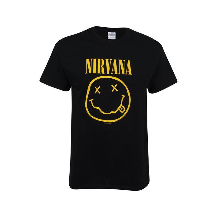 Mens Official Nirvana T Shirt New