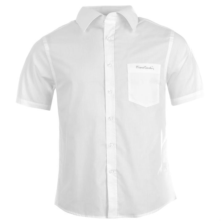 How to fold Men's Short Sleeve Shirts? Here's the technique for folding your Men's Short Sleeve Shirts: start with buttoning up the top and laying it flat. Then, fold each sleeve to the middle horizontally, and make sure the cuffs cross over the middle.
