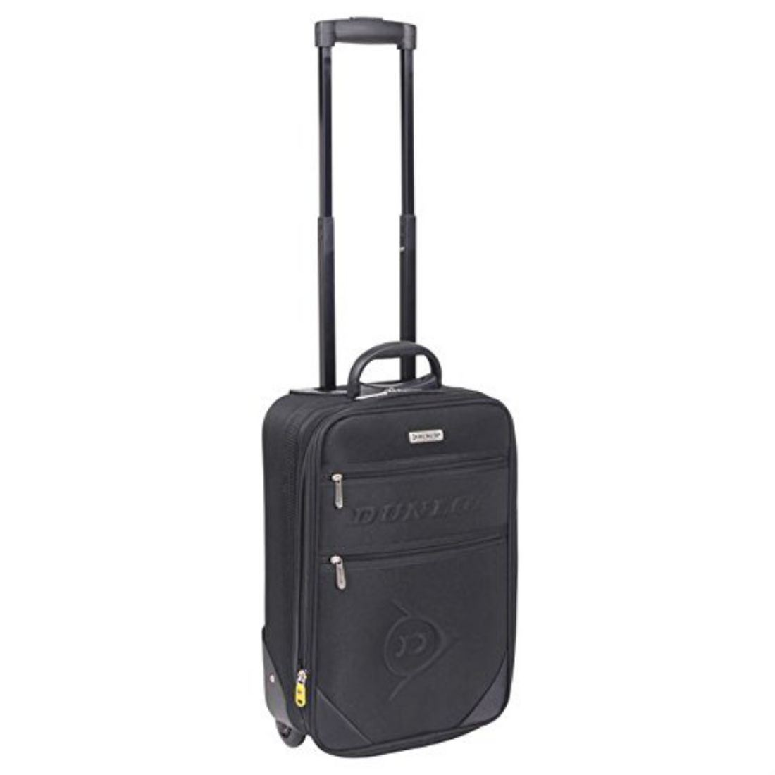 Dunlop Travel Luggage Lightweight Wheeled Holdall Carryall