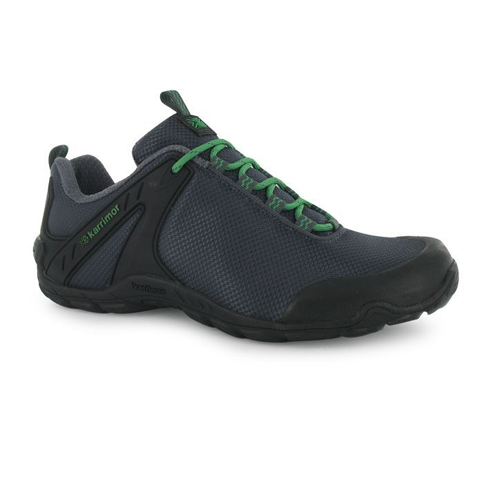 karrimor mens newton walking shoes lace up outdoor