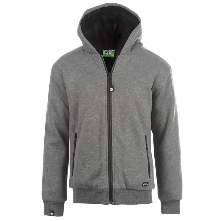 Hoodie with zipper pockets