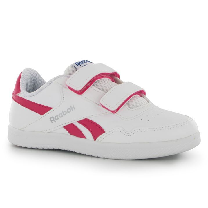 Reebok Kids Royal Effect Childrens Girls Trainers Casual Sports Shoes Footwear