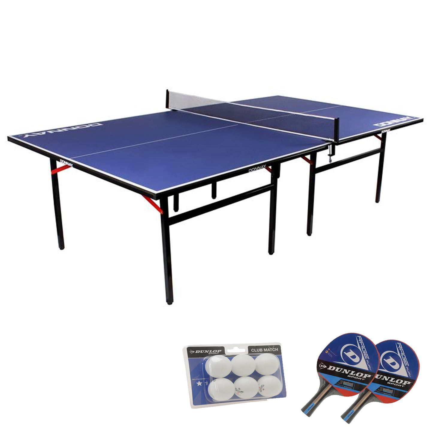 Donnay indoor compact tennis table full size ping pong for 52 table view