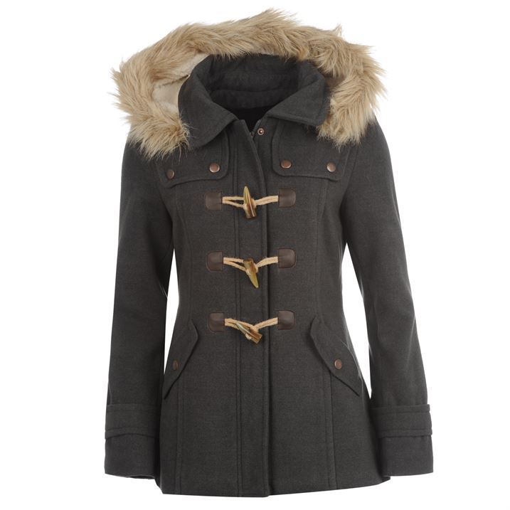 Womens Winter Duffle Coats - JacketIn
