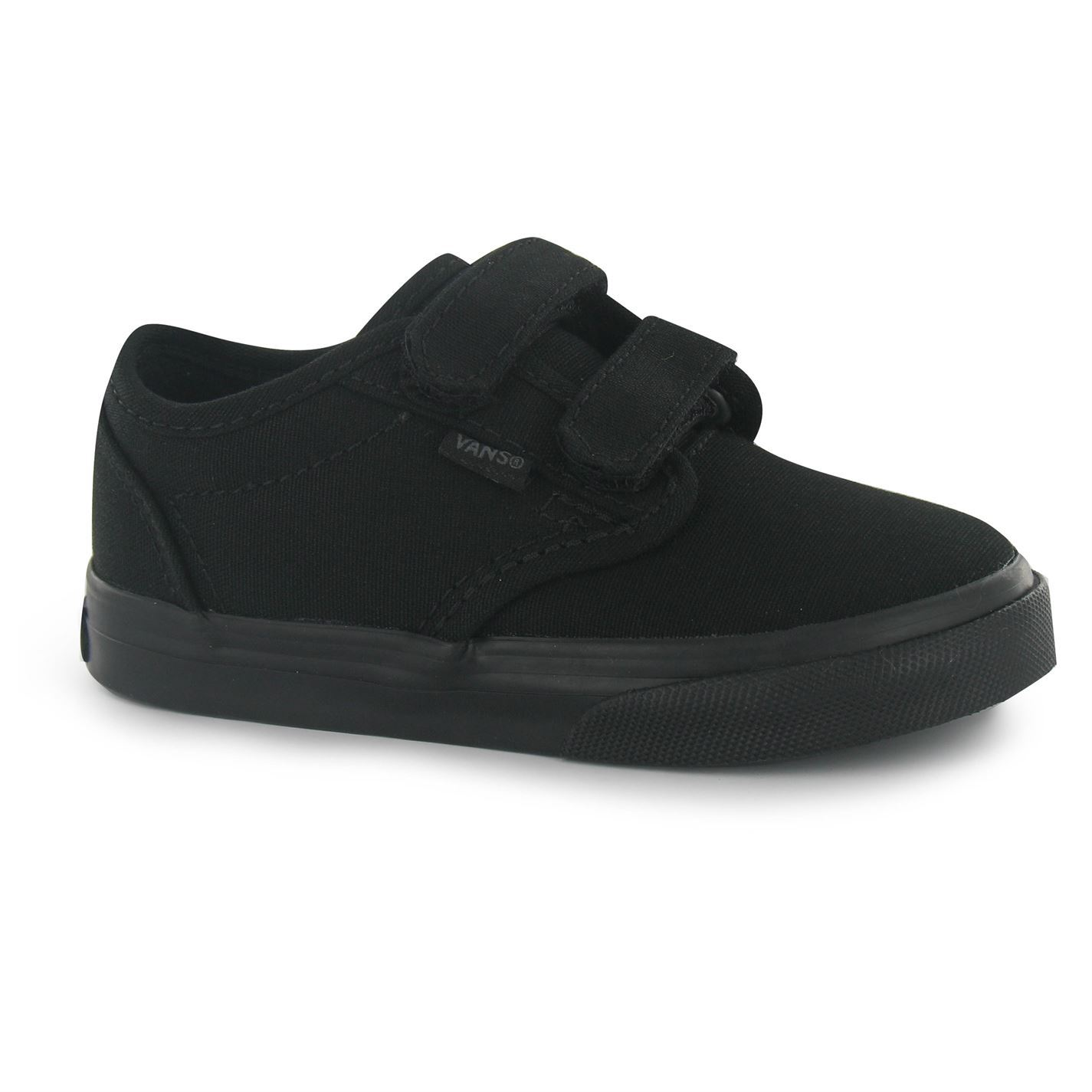 vans atwood v canvas shoes plimsoles infant