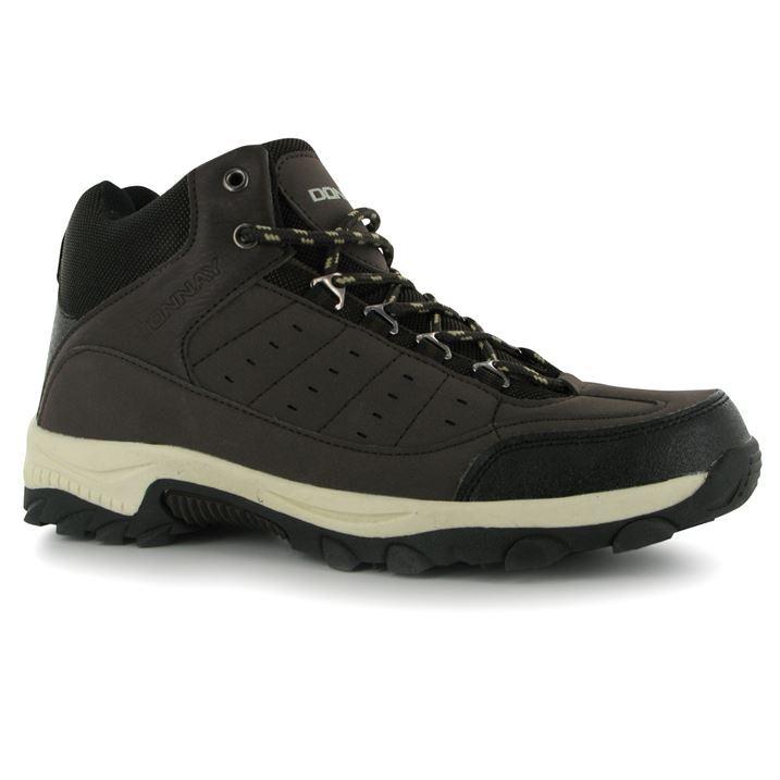 donnay mens gents rock hi high top boot sn walking boots