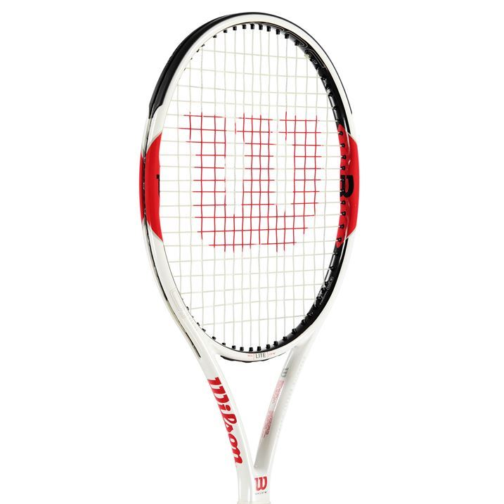wilson six one lite tennis racket sports equipment accessory squash brand ebay. Black Bedroom Furniture Sets. Home Design Ideas