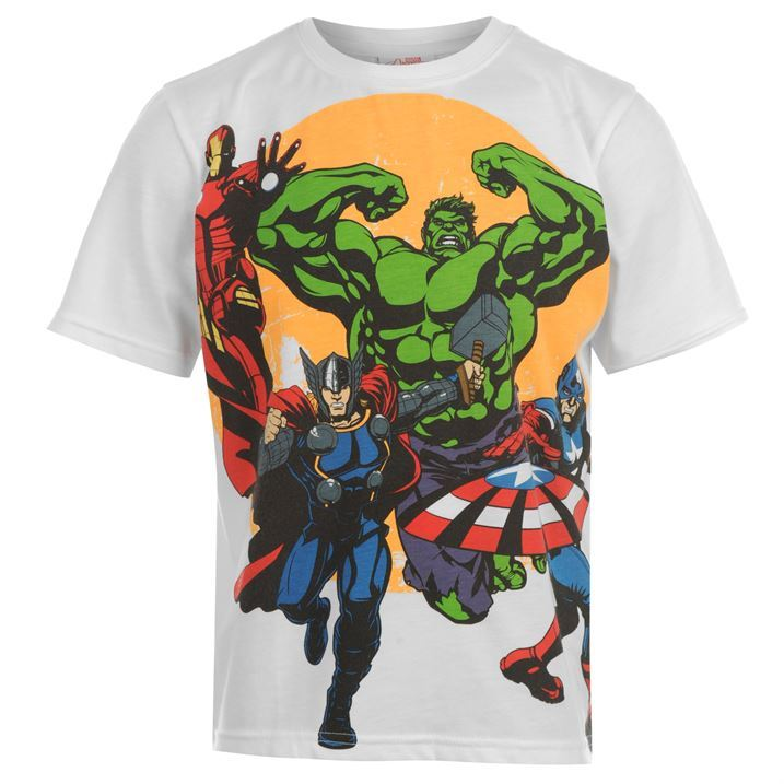 Superhero kids childrens clothing t shirt short sleeve tee Boys superhero t shirts