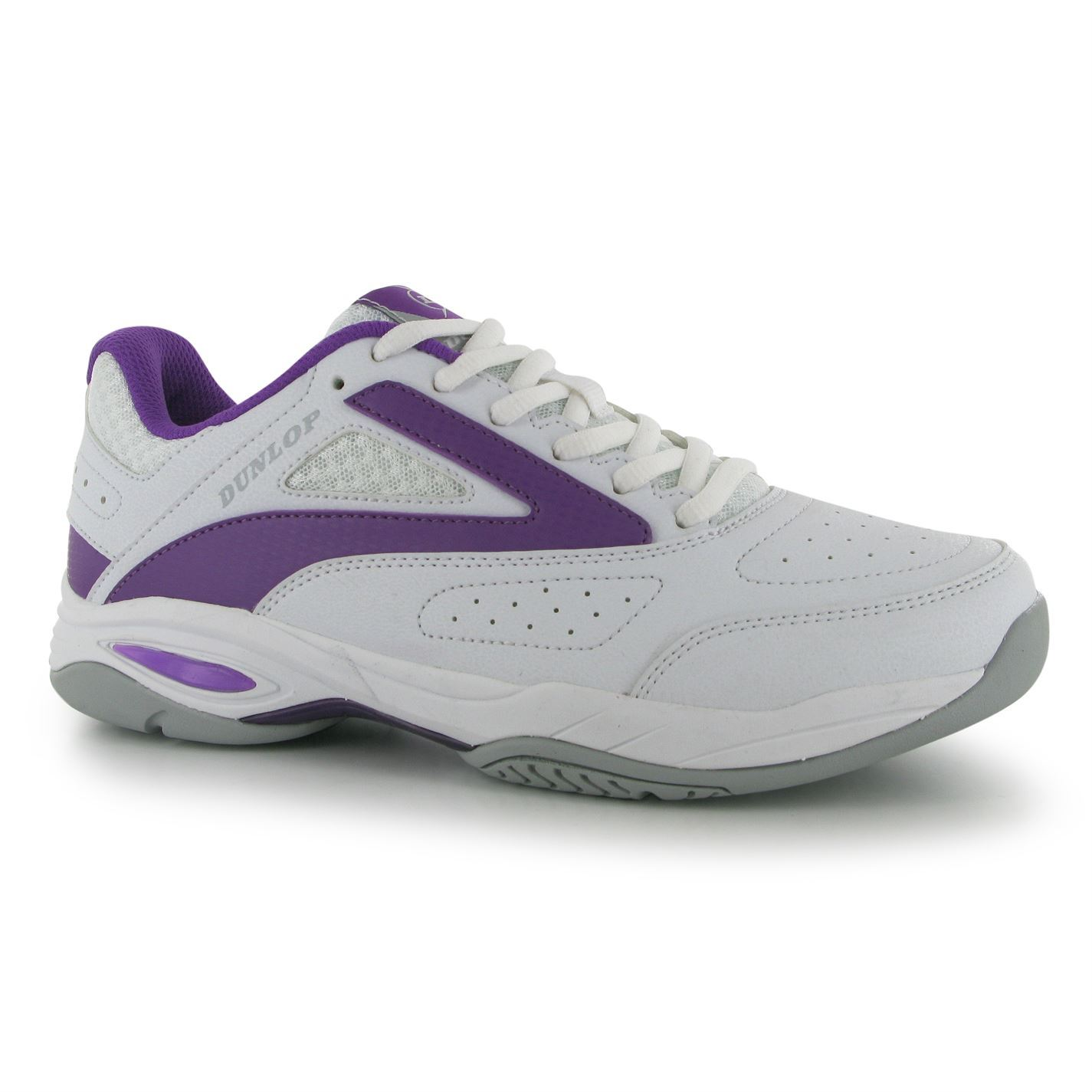 dunlop womens flash classic tennis shoes trainers