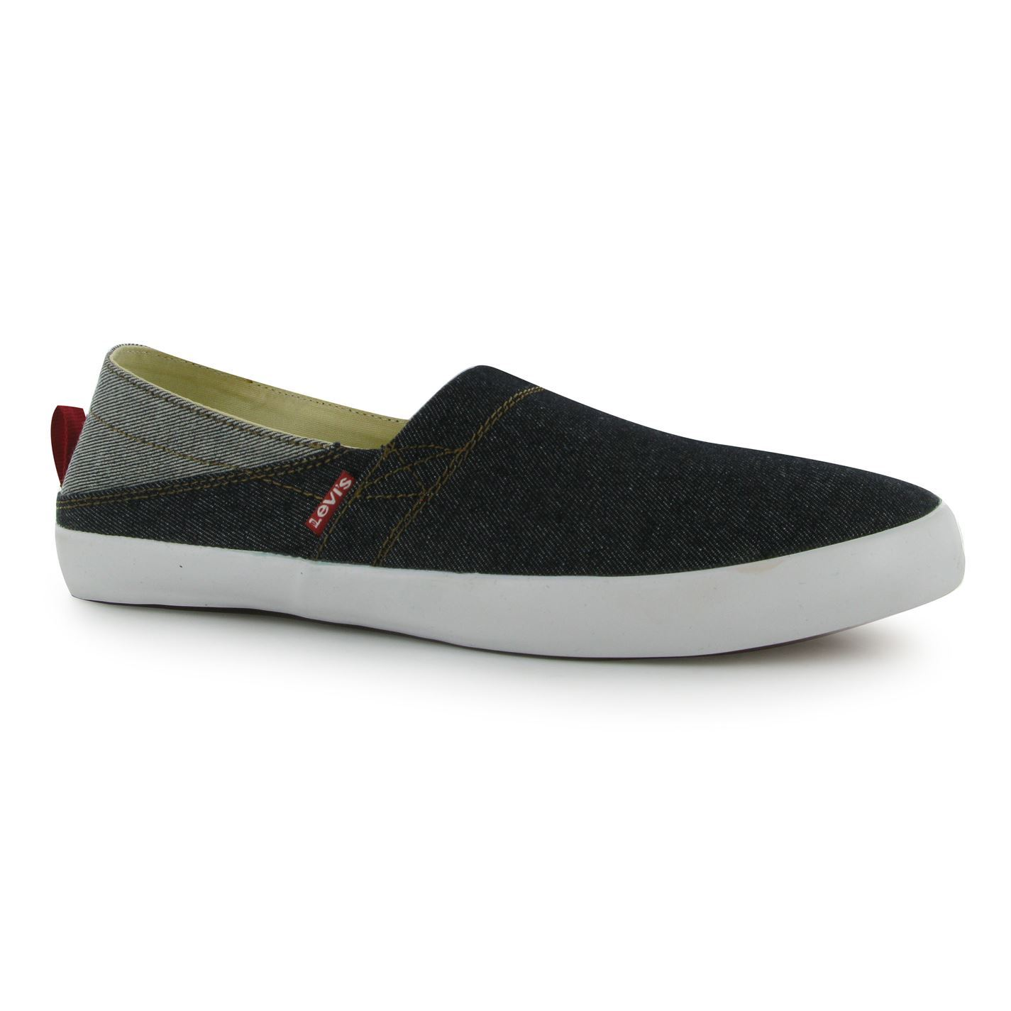 levis sunset slip on casual shoes mens gents ebay