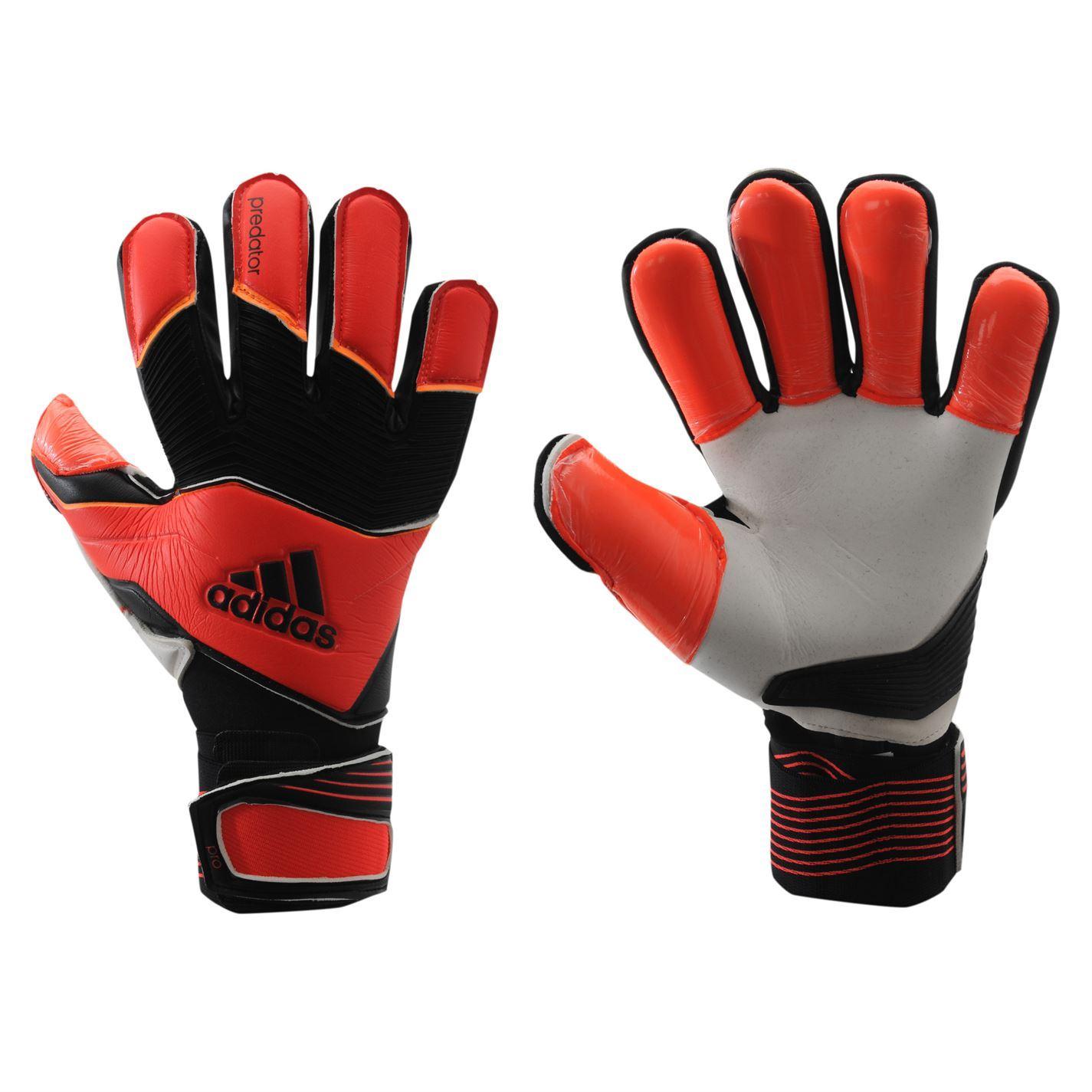 adidas Predator Pro FS Goalkeeper Gloves - Black/Red ... |Goalkeeper Gloves Adidas 2015