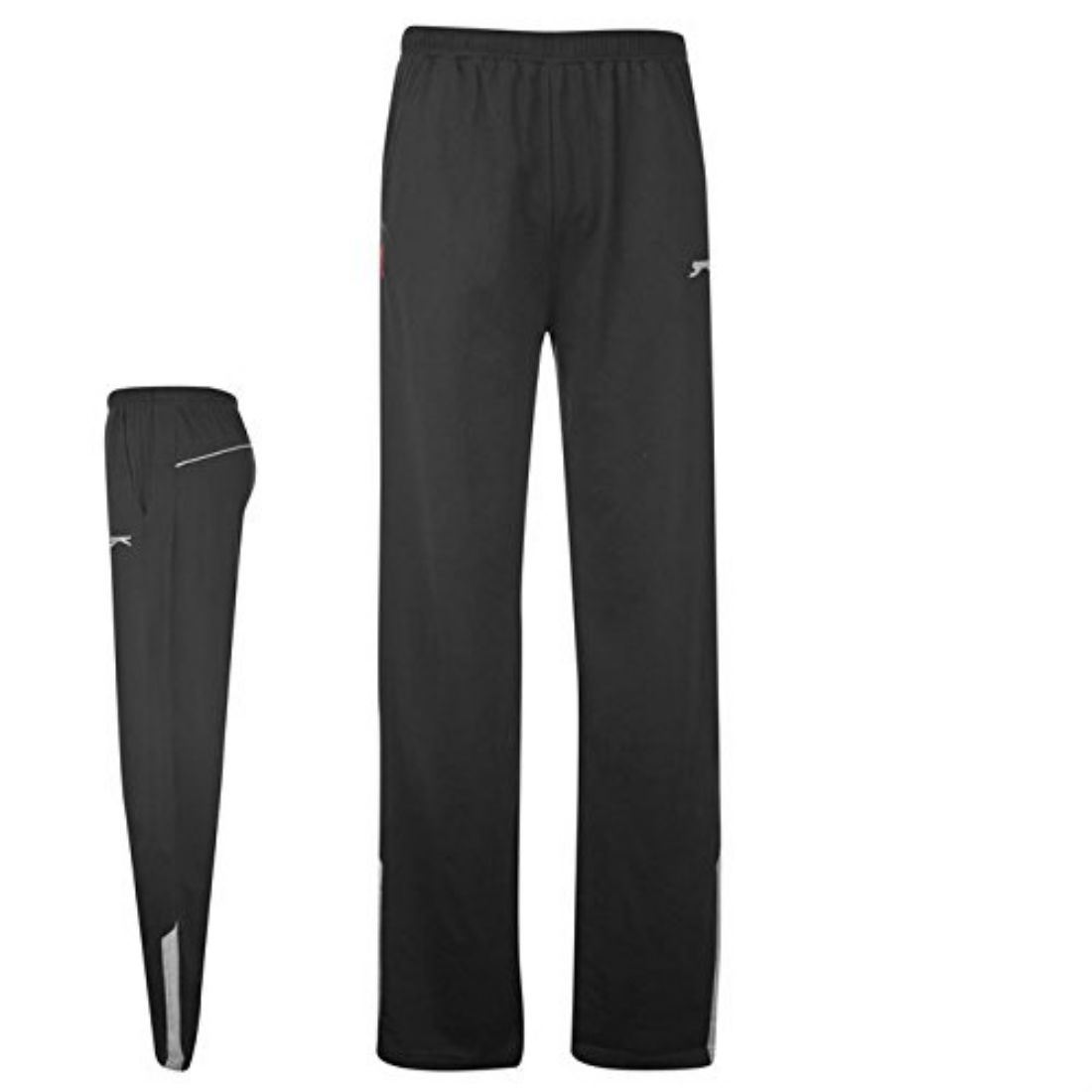 Slazenger Mens Jersey Pants Jogging Pants Sports Tracksuit Bottoms Trousers