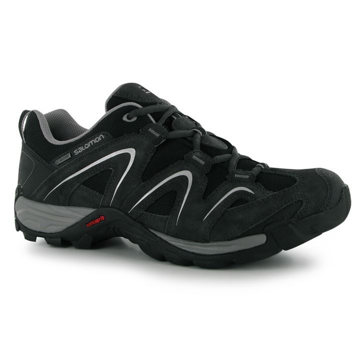 Salomon Mens Vandon Lo GTX GORE TEX Walking Shoes Mesh